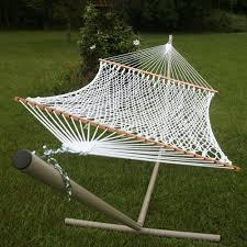 Amazon Pawleys Island Deluxe Cotton Rope Hammock Garden