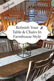 Refinish Dining Table And Chairs In Farmhouse Style - The ... Refishing The Ding Room Table Deuce Cities Henhouse Painted Ding Table 11104986 Animallica Stunning Refinish Carved Wooden Fniture With How To Refinish Room Chairs Kitchen Interiors Oak Chairs U Bed And Showrherikahappyartscom Refinished Lindauer Designs Diy Makeovers Before Afters The Budget How Bitterroot Modern Sweet