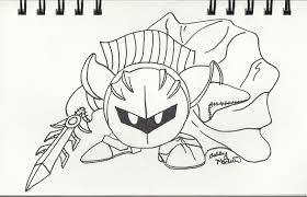 Drawing162 June 10th 2012 Meta Knight