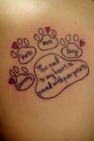 Adorable Family Pet Tattoo