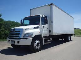 2013 HINO 268A BOX VAN TRUCK FOR SALE #465