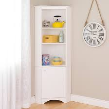 Corner Pantry Cabinet Dimensions by Amazon Com Prepac Wscc 0604 1 Elite Home Storage Corner Cabinet