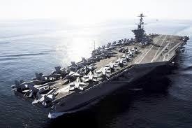 plus gros porte avion du monde l iran conseille aux états unis de ne pas revenir dans le golfe