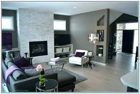 Dark Grey Accent Wall Gray Walls What Color Furniture Goes With Living Dining Room Colors For Com