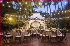 Outdoor Wedding Reception Lighting Inviting 5 Magical Ideas For Garden Weddings