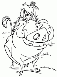 Lion King Coloring Pages Free Yaed4
