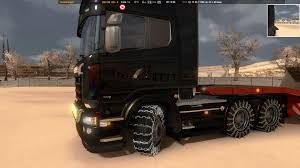 WHEELS WITH CHAINS 1.22   ETS 2 Mods - Euro Truck Simulator 2 Mods ... Rud Tire Chains Amazoncom Welove Anti Slip Snow Adjustable For Glacier 2028c Light Truck Cable Chain How To Install General Highway Service Semi India Kashmir Gulmarg Army Truck With Snow Chains Driving On High Tech Tire Google Search Misc Manly Cool Stuff New 2017 Version Car Wheel Stock Image Image Of Auto Maintenance 7915305 Canam Commander Forum Safe Security 58641657 Diy 5 Steps Pictures Tire Chainsnet Reinforced