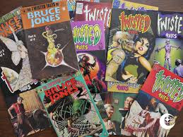 Of All These Eclipsish Comics Twisted Tales My Be The Ones I Remember Best From Early Teens Course Eight First Issues Were Published By Pacific