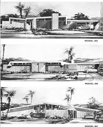 The Retro Home Plans by Mid Century Modern House Plans Modern