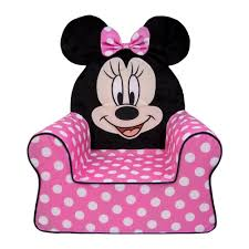 Minnie Mouse Flip Open Sofa Bed by Amazon Com Minnie Mouse Cumfy Foam Chair Kitchen U0026 Dining
