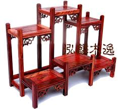 Wonderful Chinese Handcraft Wood Stand For Snuff Bottle Carving Display