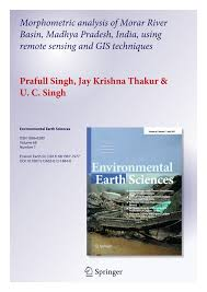 Jay R Smith Floor Drains 2005 by Morphometric Analysis Of Morar River Basin Madhya Pradesh India