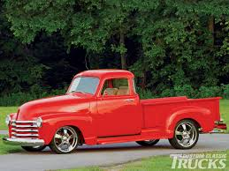 100 Brothers Classic Trucks Group Of Custom Red