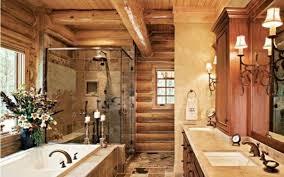 badezimmer rustikal landhaus