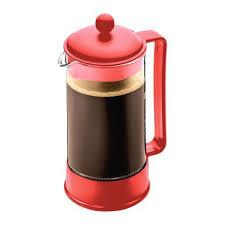 Red French Press Coffee Maker Bodum Starbucks