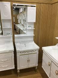 60cm wand pvc badezimmer kabinett einzelne schüssel