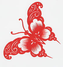 Chinese Paper Cuttings Are Rich In Content The Auspicious Designs Symbolize Good Luck And Avoidance Of Evil Child Lotus Bottle Gourd