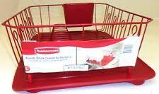 Rubbermaid Sink Mats Almond by Rubbermaid Dish Drainer Kitchen Dining U0026 Bar Ebay