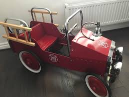 Goki Vintage Fire Engine Ride On Pedal Truck RRP £224 | In ... Goki Vintage Fire Engine Ride On Pedal Truck Rrp 224 In Classic Metal Car Toy By Great Gizmos Sale Old Vintage 1955 Original Murray Jet Flow Fire Dept Truck Pedal Car Restoration C N Reproductions Inc Not Just For Kids Cars Could Fetch Thousands At Barrett Model T 1914 Firetruck Icm 24004 A Late 20th Century Buddy L Childs Hook And Ladder No9 Collectors Weekly Instep Red Walmartcom Stuff Buffyscarscom Page 2