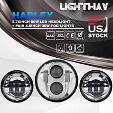 Harley Davidson Light Bulbs by Motorcycle Light Bulbs Leds U0026 Hids For Harley Davidson Fatbob Ebay