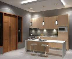 Furniture Grey Paint Wall bine With Movable Kitchen Islands