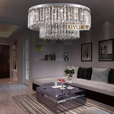 Get Quotations 8033 Cm Crystal Ceiling Lamp Modern Low Voltage Lights Round The Living Room