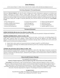 Resumes For Electricians