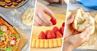 schnelle backrezepte pizza brötchen und kuchen mit wenigen zutaten