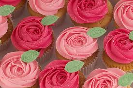 Cupcake Bouquet Of Roses