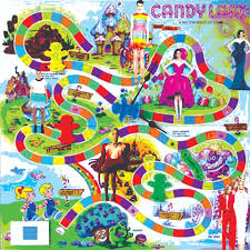 Candyland Board Game Clipart