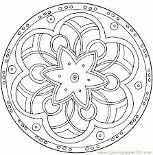 Free Download Printable Mandalas Coloring Pages Adults On