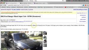 100 Craigslist Fresno Cars And Trucks For Sale 28 D Ranger By Owner Fixthefecorg