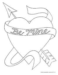 Valentines Day Coloring Pages And Printables