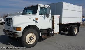 1998 International 4700 Chipper Truck | Item K6287 | SOLD! M... Town And Country Truck 4x45500 2005 Chevrolet C6500 4x4 Chip Dump Trucks Tag Bucket For Sale Near Me Waldprotedesiliconeinfo The Chipper Stock Photos Images Alamy 1999 Gmc Topkick Auction Or Lease Intertional Wwwtopsimagescom Forestry Equipment For In Chester Deleware Landscape On Cmialucktradercom Intertional 7300 4x4 Chipper Dump Truck For