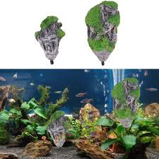 Dragon Ball Z Fish Tank Decorations by Aquarium Floating Rock Suspended Stones For Magic Aquascape Fish