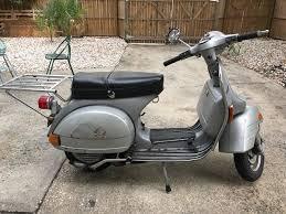Vespa Piaggio P200e Scooter Retro Vintage 1979