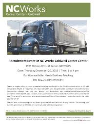 Hardy Brothers Trucking Recruitment Event At The NCWorks Career ... Kivi Bros Trucking Flatbed Stepdeck Heavy Haul Lemke Client Study Exclusive Commercial Reimer Ltd Armstrong Bc Drivers Wanted Trucking Jobs Distribution Of Goods Gogel Brothers Llc Details Toydb Barreiro Inc Rio Grande City Texas Get Erdner Swedesboro Nj Rays Truck Photos July 2011 Ed Smith Protrucker Magazine Western Canadas Does Hill Transportation Hire Felons Heres What You Need Albums Robinson Specialized Transport Oversize Barstow Pt 13 Dccc Receives Dation From Hardy Davidson County