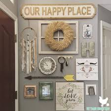 Decorative Doorbell Chime Covers by A Cozy Boho Farmhouse Entryway That Also Hides Eyesores
