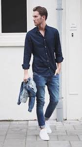 Jeans With Black Shirt