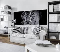 vlies fototapete tiger tiere wohnzimmer poster tapete