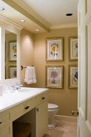 Omaha Soffit Ceiling With Traditional Bathroom Accessory Sets And Wall Art Recessed Lighting