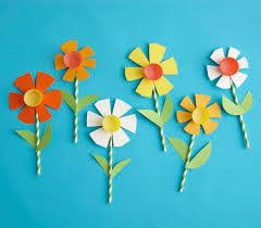 Image Result For How To Make Paper Flowers With Construction Kids