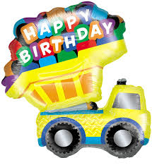 Happy Birthday Dump Truck 33