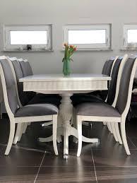 designermöbel esstisch mit 8 stühlen
