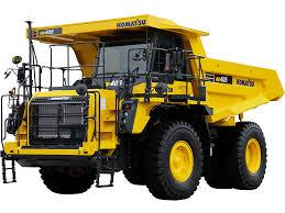 Mechanical Trucks | Komatsu America Corp