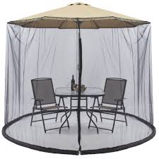 9 Ft Patio Umbrella Frame by Best Choice Products Outdoor 9 Foot Patio Umbrella Screen Black