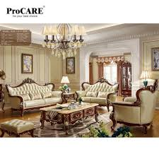 100 2 Sofa Living Room US 44740 Luxury European Style Unique Leather Set Modern Leather Foshan ProCAREin S From Furniture On