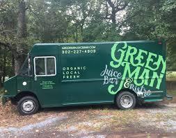 100 Green Food Truck Catering Man Juice Bar Bistro