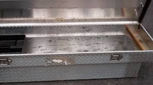 Truck Tool Box Diamond Plate - YouTube
