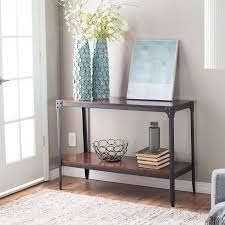 Walmart Larkin Sofa Table by Belham Living Trenton Industrial Console Table Espresso